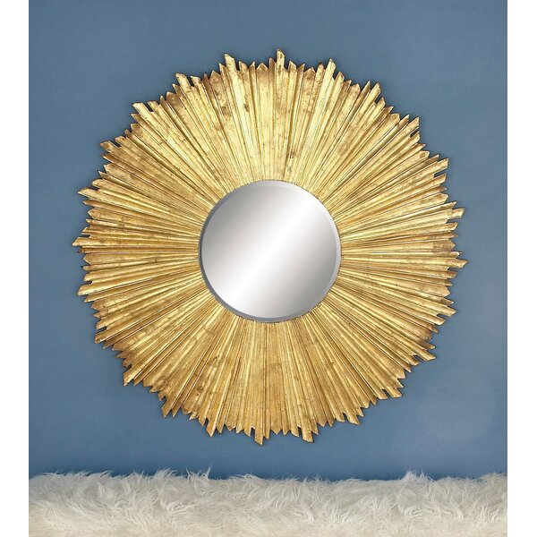 Wood Wall Mirror by Cole & Grey