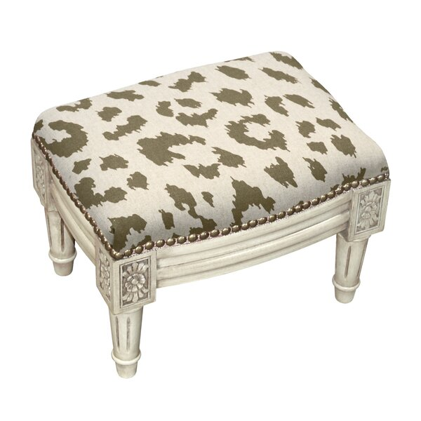 Upholstered Ottoman by 123 Creations