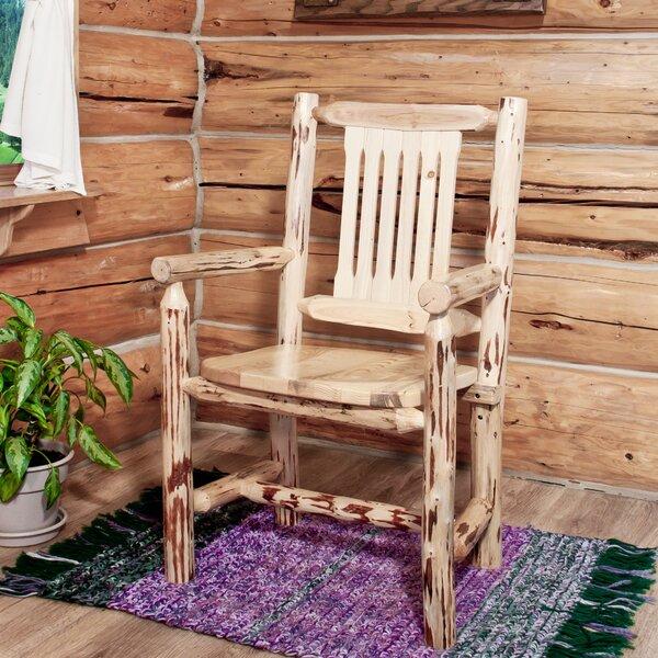 Tustin Slat Back Solid Wood Dining Chair By Loon Peak 2019 Sale