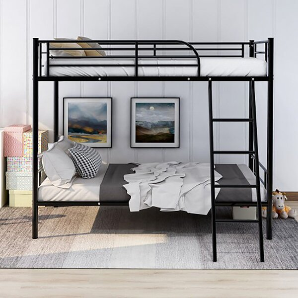 Jase Twin over Twin Bunk Bed by Harriet Bee