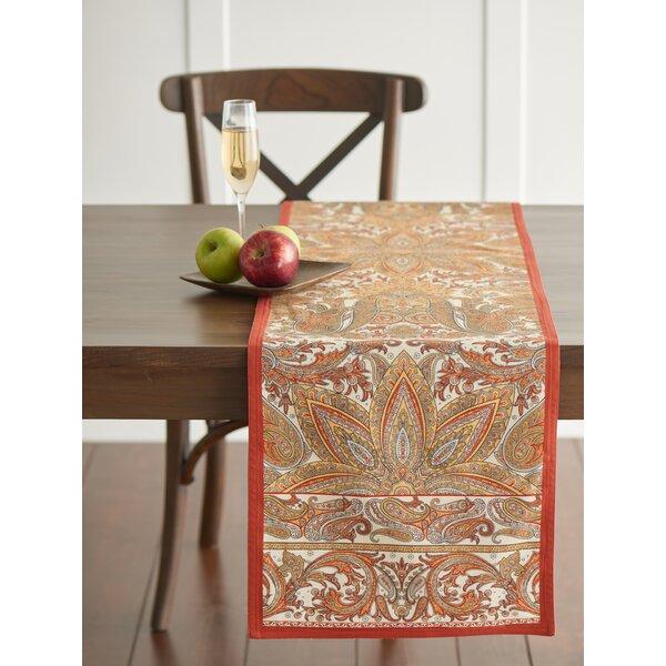 Kashmir Paisley Table Runner by Maison d' Hermine