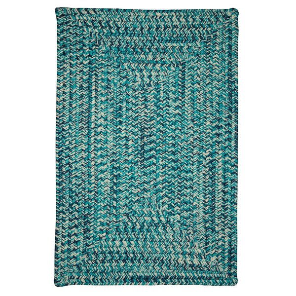 Giovanni Hand-Woven Blue Outdoor/Indoor Area Rug by Viv + Rae