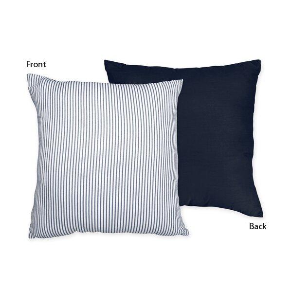 Come Sail Away Cotton Throw Pillow by Sweet Jojo Designs