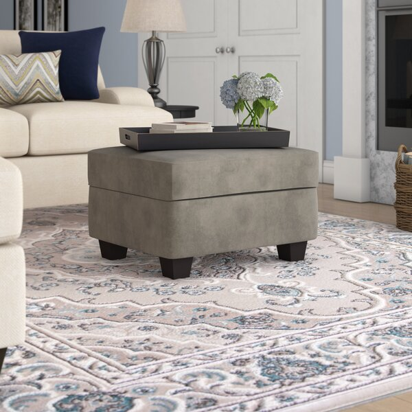 Keever Ottoman by Ebern Designs