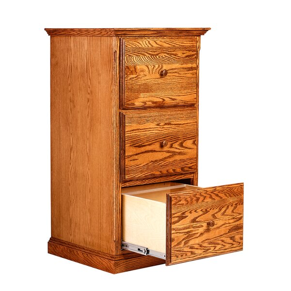 Mixon 3 Drawer Vertical File by Loon Peak