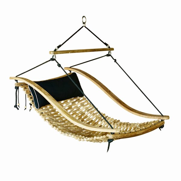 Maia Teak Porch Swing by Bungalow Rose Bungalow Rose