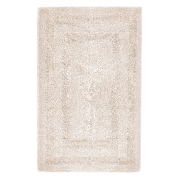 Reversible Cotton Bath Rug by Caro Home