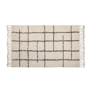 Comparison Lisson Hand Woven Wool Off White Area Rug By 17 Stories