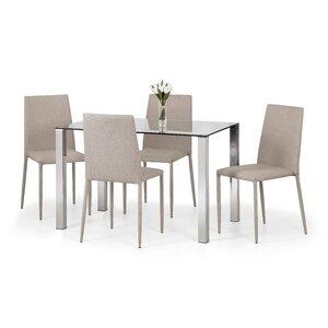 Essgruppe Enzo mit 4 Stühlen von All Home