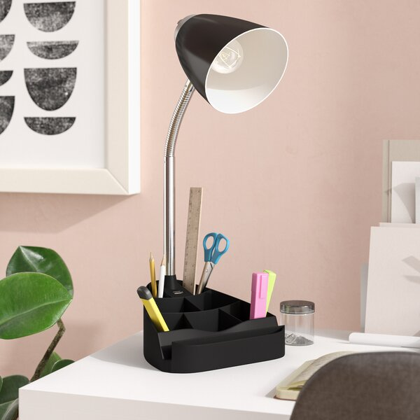 USB Port 18.5 Desk Lamp by Symple Stuff