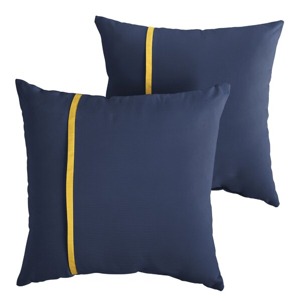 Angus Indoor/Outdoor Throw Pillow (Set of 2) by Longshore Tides