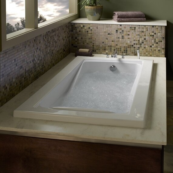 Green Tea 63.625 x 45.5 Bathtub by American Standard