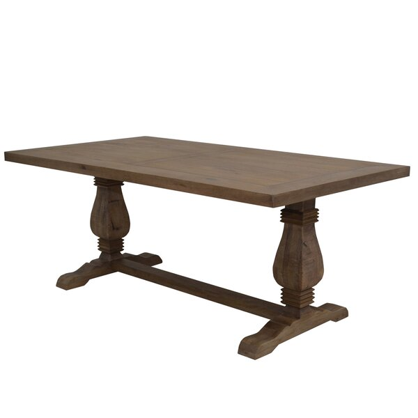 Ponder Solid Wood Dining Table by Gracie Oaks