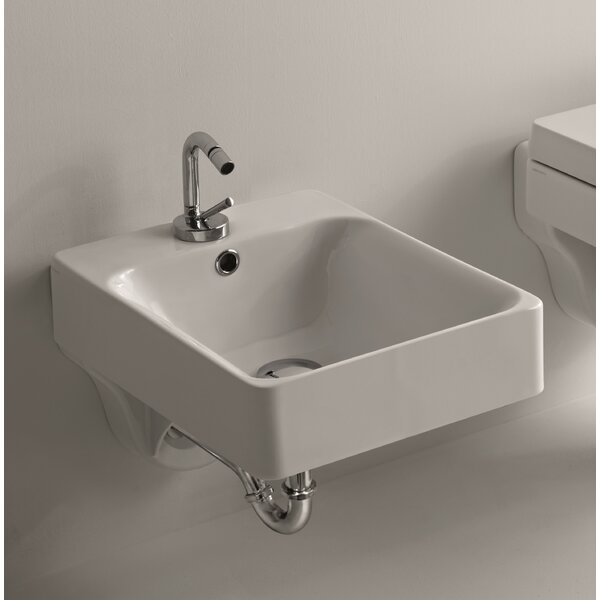 Cento Ceramic 12.2 Wall Mounted Bidet by WS Bath Collections