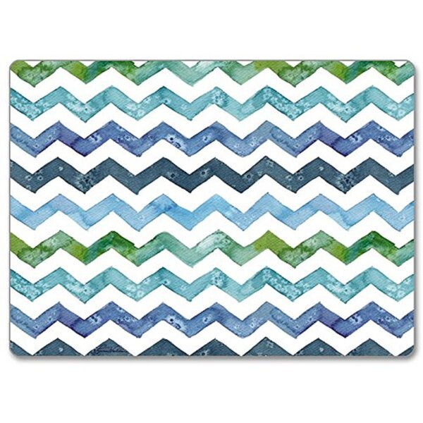 Chevron Hardboard Placemat (Set of 2) by CounterArt