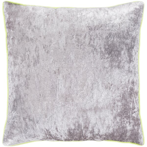 Shalanda Solid and Border Pillow Cover by House of Hampton