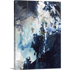 'Deep Blue Pool Crop' by Kari Taylor Painting Print on Canvas by Great Big Canvas