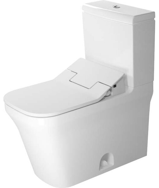 P3 Comforts Elongated Two-Piece Toilet (Seat Not Included) by Duravit