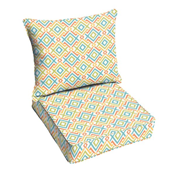 Terneuzen Outdoor Lounge Chair Cushion by Bungalow Rose