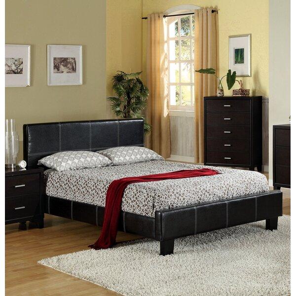 Fogg Earnestine Upholstered Platform Bed by Latitude Run