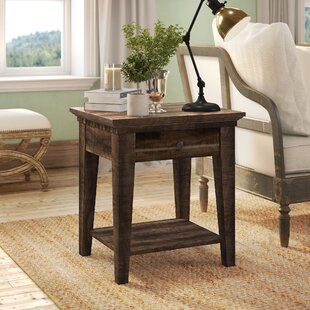 Compare prices Suzann End Table ByLaurel Foundry Modern Farmhouse
