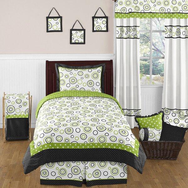Spirodot 4 Piece Twin Comforter Set by Sweet Jojo Designs
