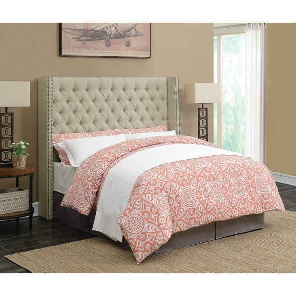 Schweitzer Upholstered Standard Bed by Red Barrel Studio