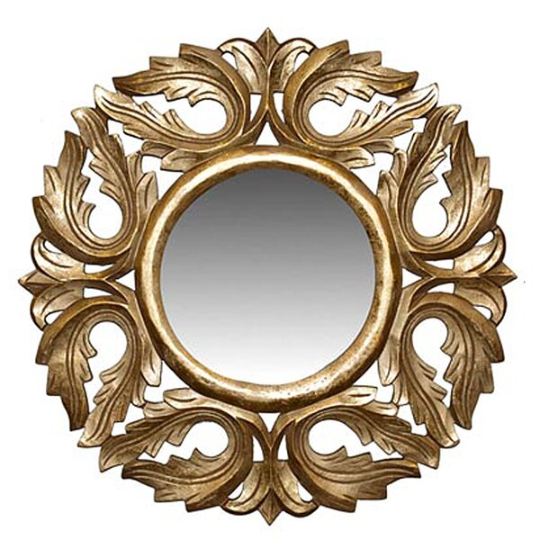 Cyrus Accent Mirror by Fleur De Lis Living
