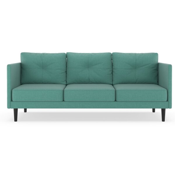 Rockwood Linen Weave Sofa by Brayden Studio