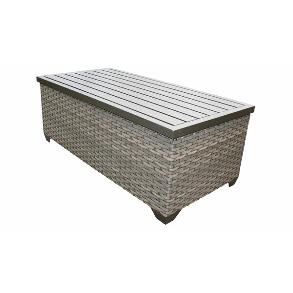 Romford Wicker Coffee Table by Sol 72 Outdoor