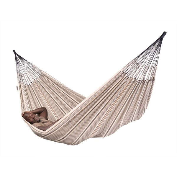 Flora Organic Cotton Double Tree Hammock by LA SIESTA