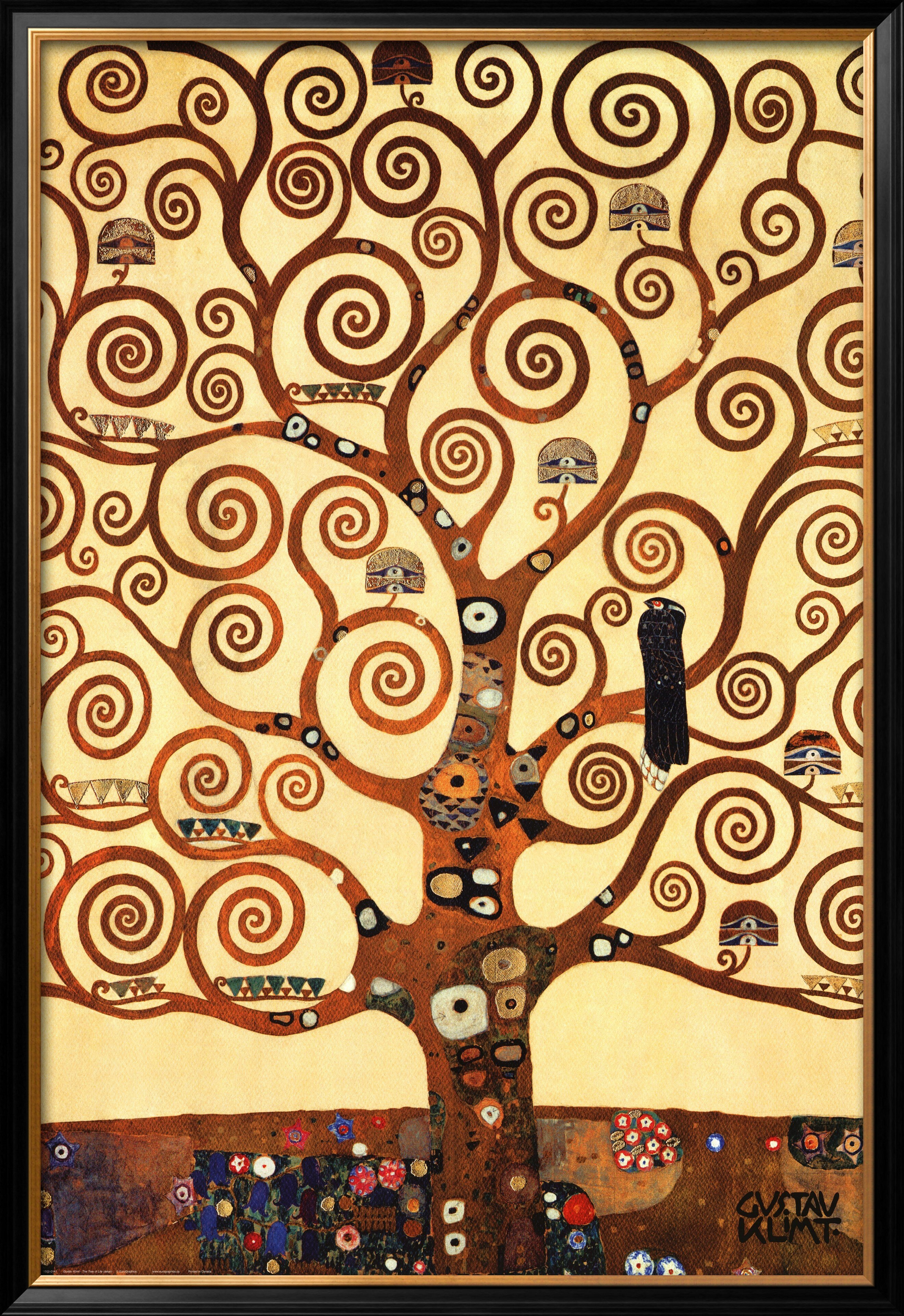 Art.com \'The Tree of Life, Stoclet Frieze, c.1909\' by Gustav Klimt ...