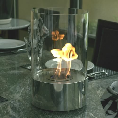 Accenda Bio-Ethanol Tabletop Fireplace by Nu-Flame