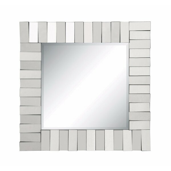 Karki Alluring Square Wall Accent Mirror by Ebern Designs