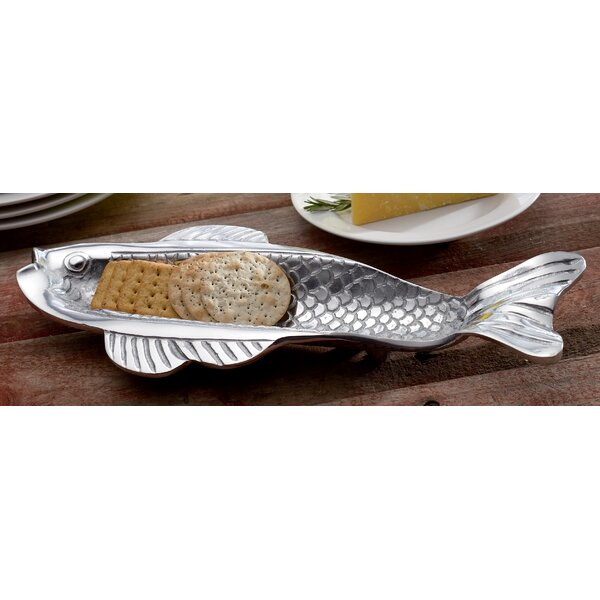 Skinny Fish Olive and Cracker Tray by Kindwer