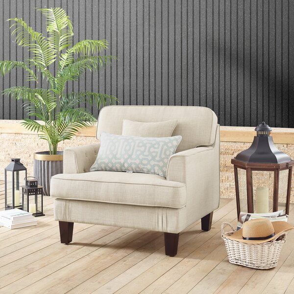 Albertson Patio Club Chair with Cushions by Red Barrel Studio