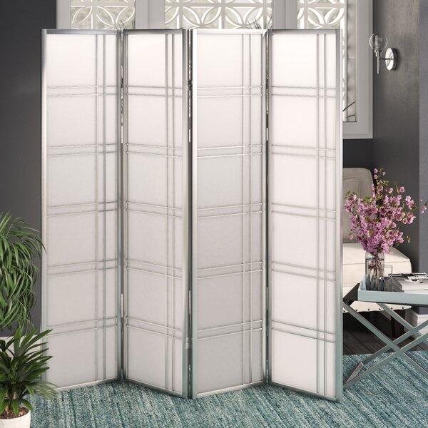 Lana 4 Panel Room Divider by Ebern Designs