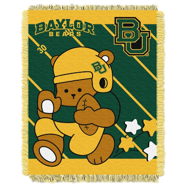 Collegiate Baylor Baby Blanket by Northwest Co.