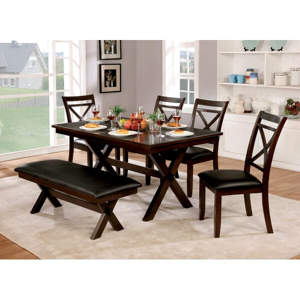 Bexley 6 Piece Dining Set by Alcott Hill