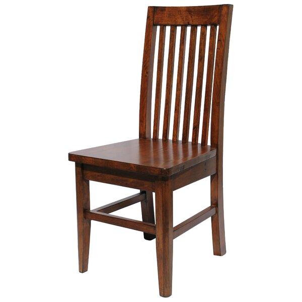 Yorba Linda Pine Slat Back Side Chair (Set of 2) by Loon Peak