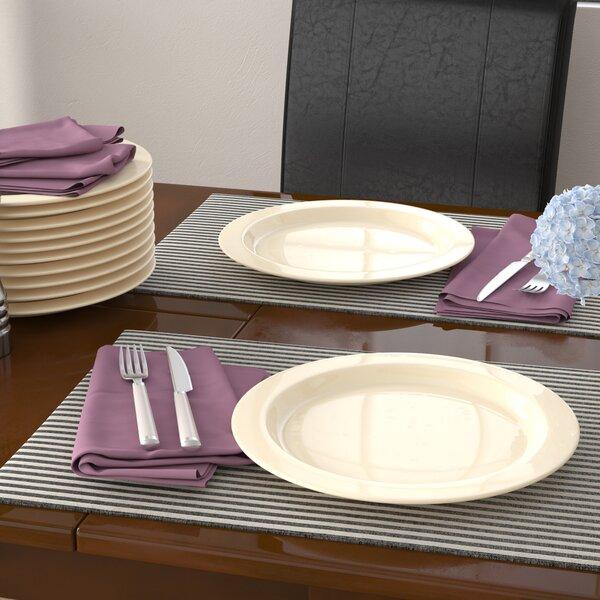 Ada Melamine Round 10.25 Dinner Plate (Set of 12)