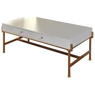 Price comparison Hoch 2 Drawer Coffee Table with Storage By Mercer41