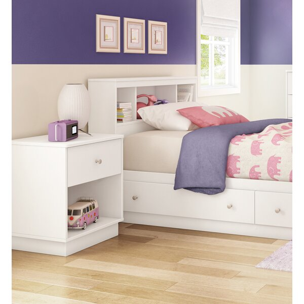 Cremont Twin Bookcase Headboard by Harriet Bee