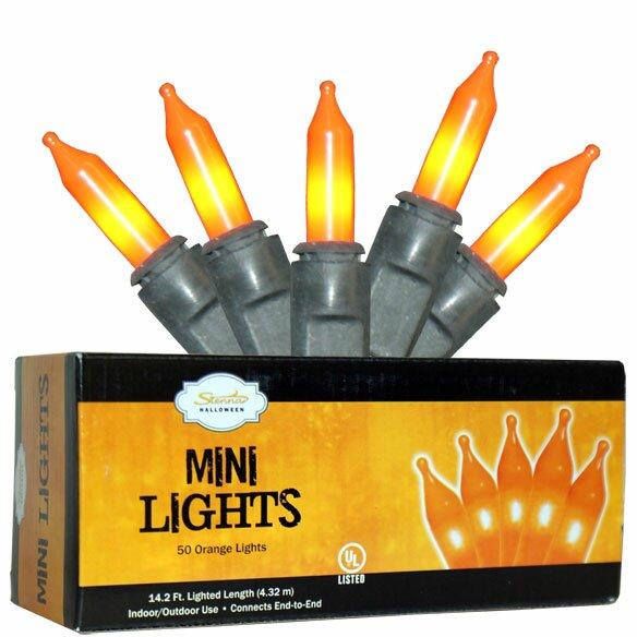 50 Light Halloween Mini Set by Penn Distributing