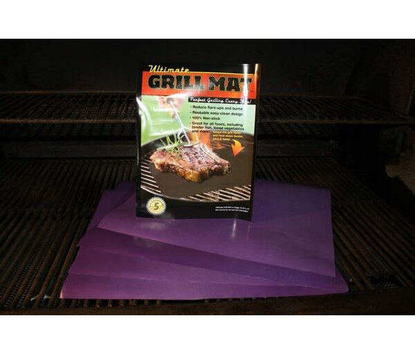 Non-Stick Ultimate Grill and Baking Mat by Ultimate Innovations