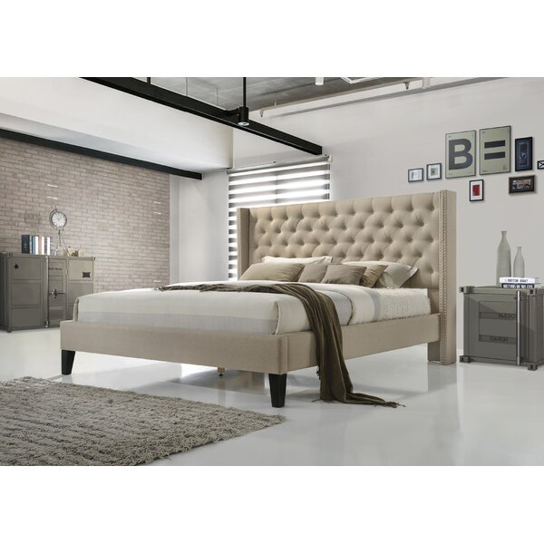 Kathrine Upholstered Platform Bed by Birch Lane™ Heritage