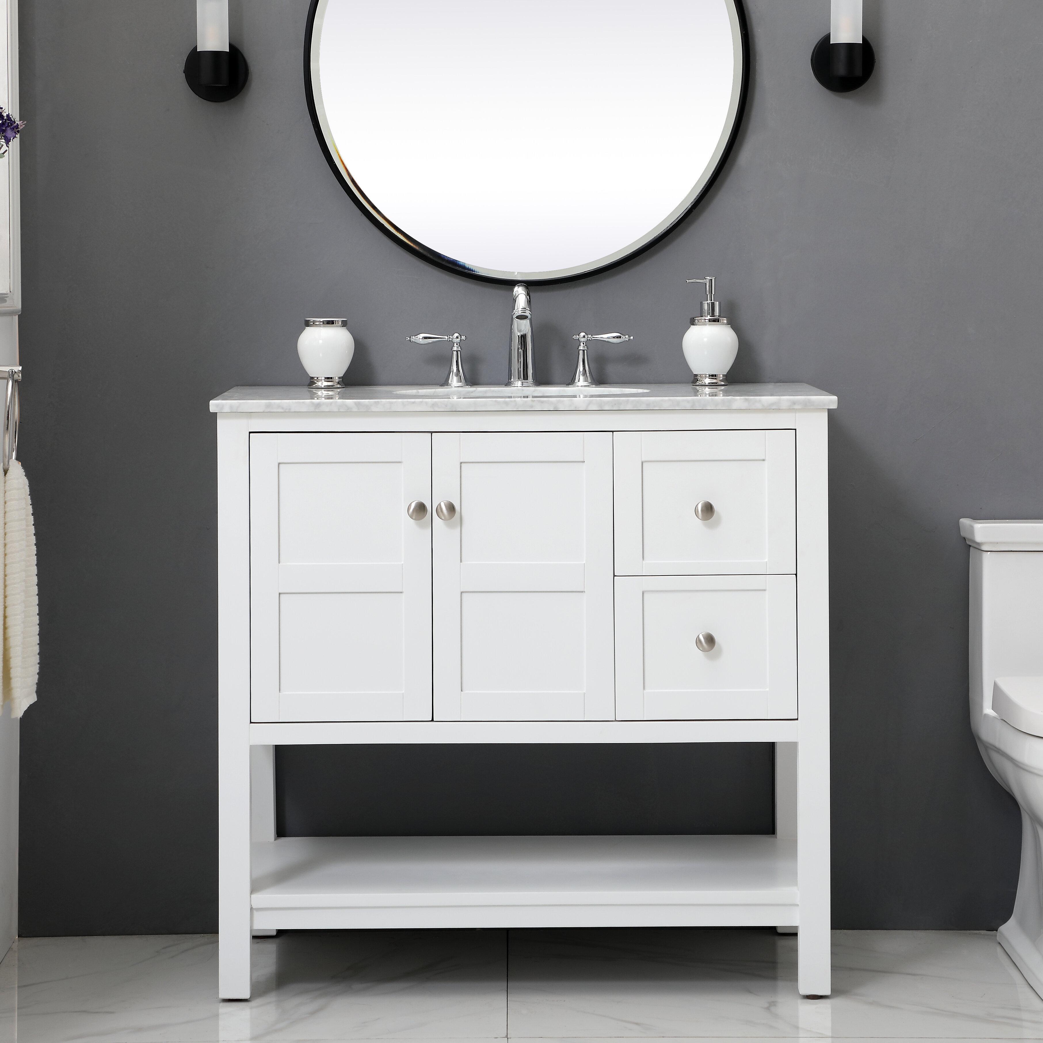 """Benitez Maddox 5"""" Single Bathroom Vanity Set"""
