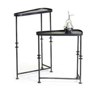 Kason Asymmetrical 2 Piece End Table Set by Latitude Run