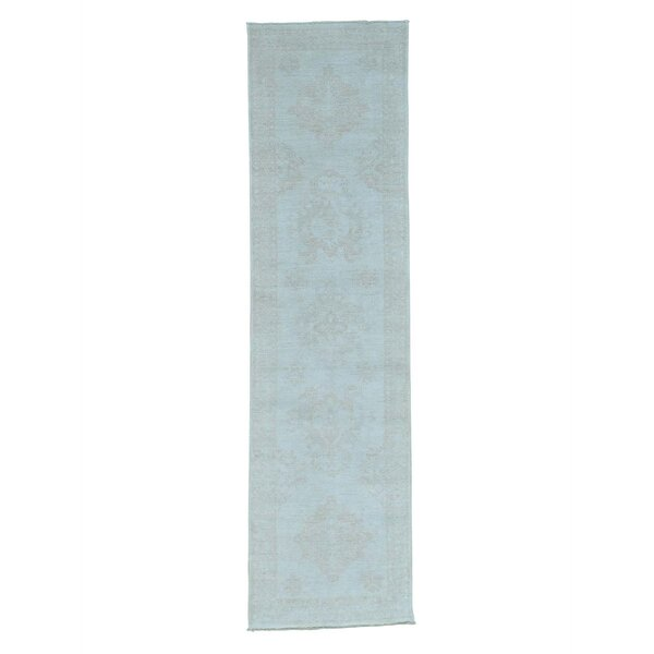 One-of-a-Kind Ledford Hand-Knotted Ivory Area Rug by Canora Grey