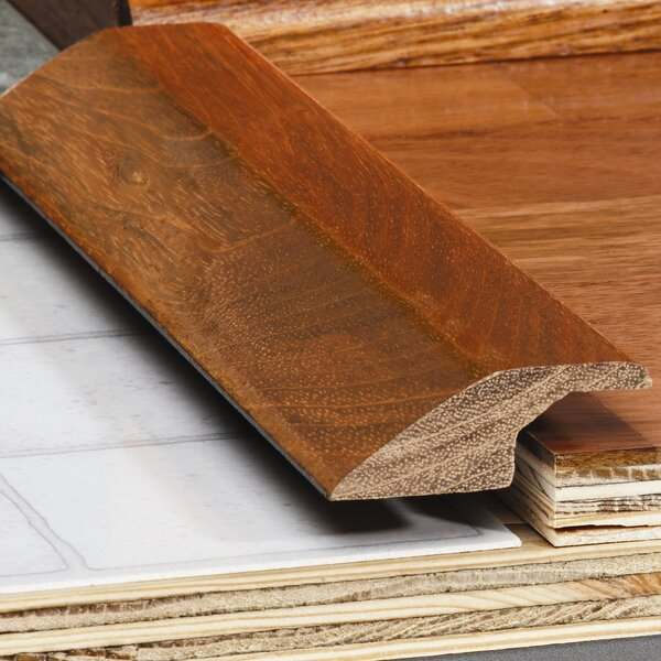 0.34 x 1.5 x 78 Red Oak Overlap Reducer by Moldings Online